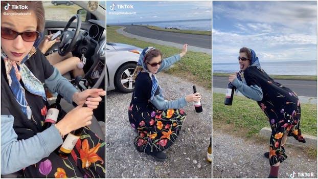 Teens on TikTok dressing up as grandmas to purchase booze