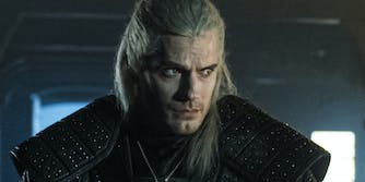 henry cavill as the witcher