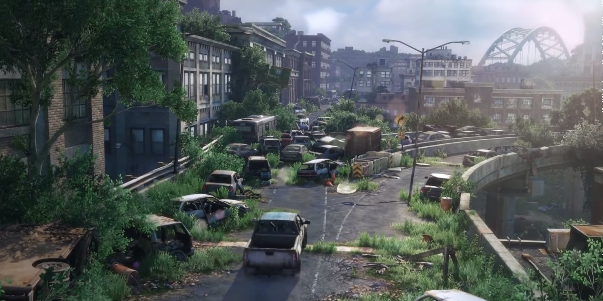 The Last of Us HBO - world