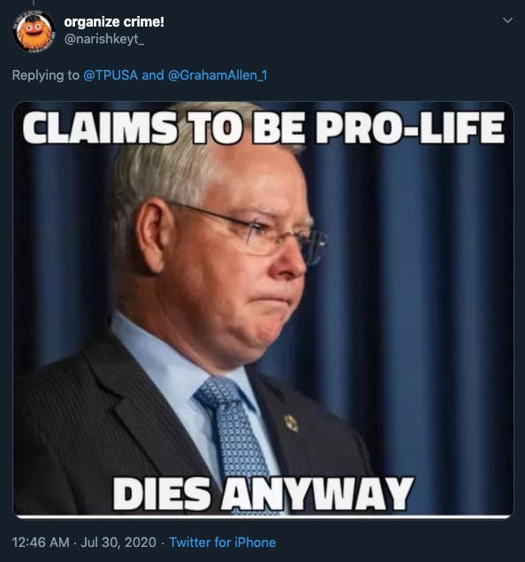 TP USA Bill Montgomery memes