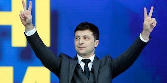 volodymyr zelenskiy ukrainian hostage situation