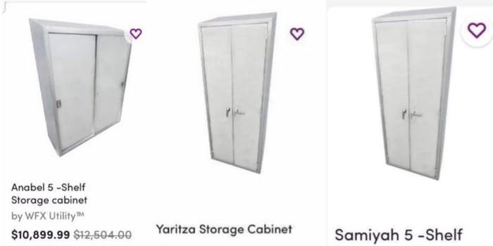 Wayfair cabinets