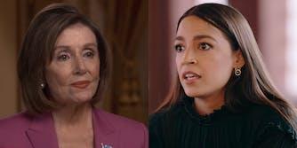 Alexandria Ocasio-Cortez Nancy Pelosi Joe Kennedy Ed Markey