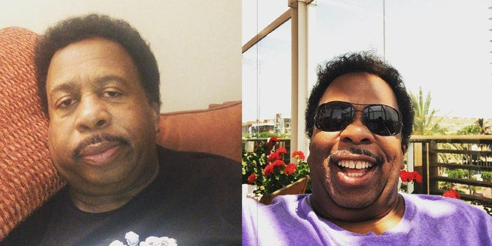 Leslie David Baker played the role of 'Stanley Hudson' in the Office