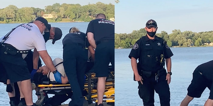 Round Lake Beach police officer punches woman