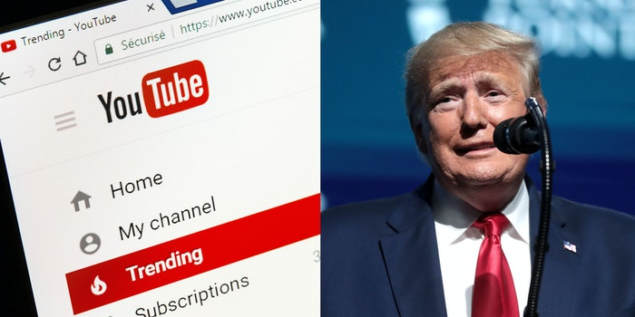 Donald Trump YouTube Ads