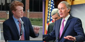 Ed Markey Joe Kennedy Campaign Online Supporters