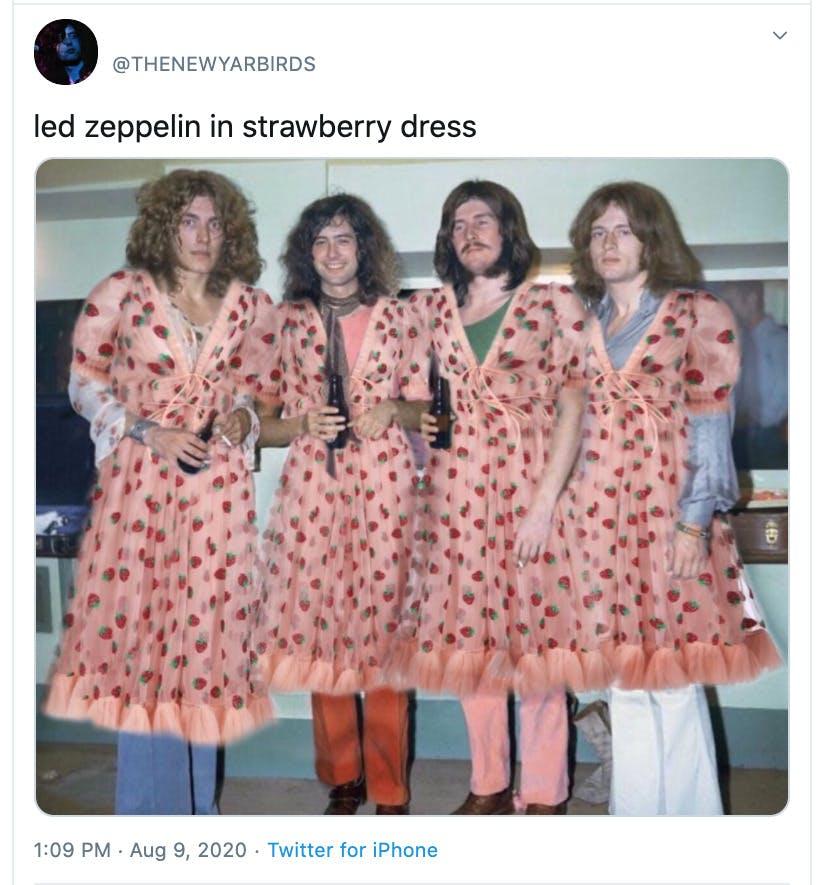 strawberry dress memes