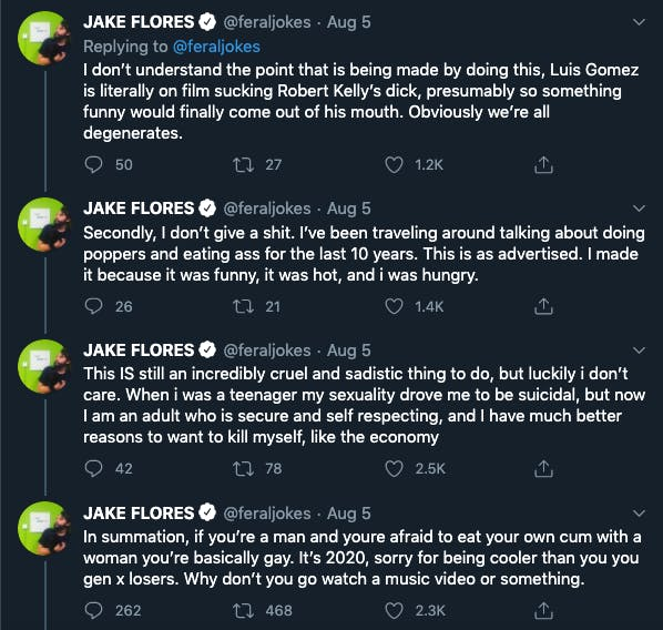 Jake Flores Pod Damn America porn