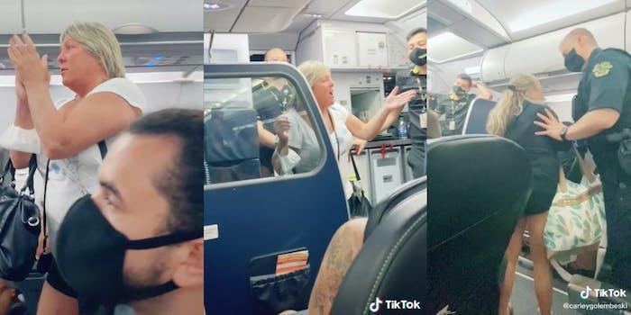 karen kicked off plane racism