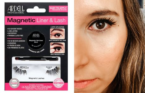 best halloween makeup magnetic eyeliner and lashes
