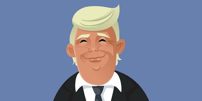 Donald Trump cartoon 2020 Republican National Convention