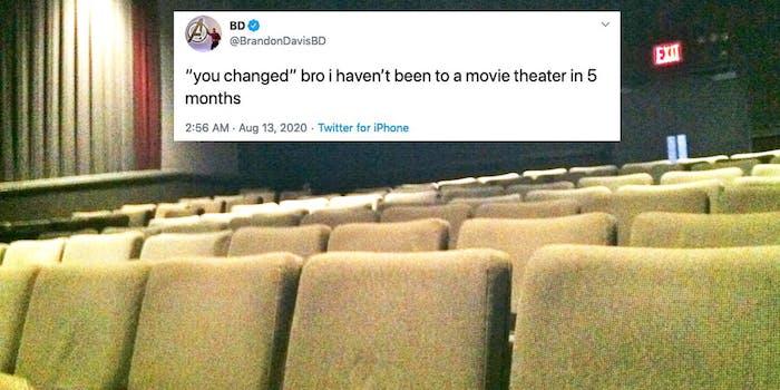 you've changed bro meme