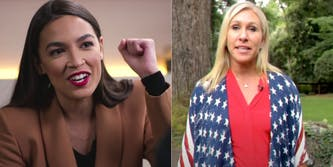 GOP's Marjorie Taylor Greene failed at roasting AOC on Twitter AOC Marjorie Taylor Greene