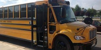 Prince William County school bus