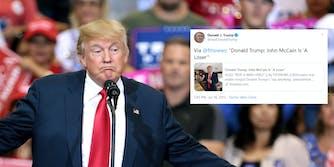 Donald Trump Calls John McCain Loser