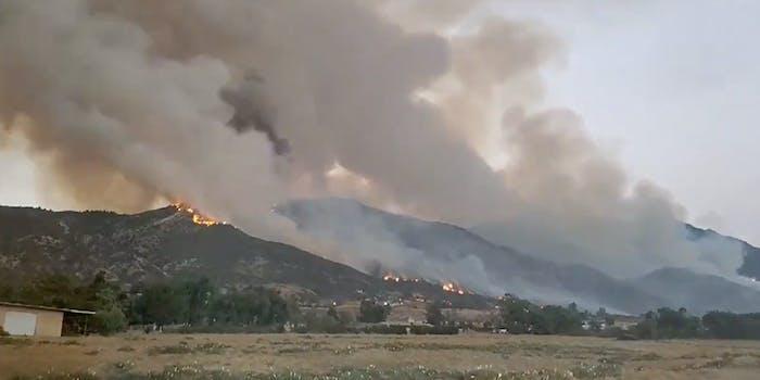 El Dorado fire