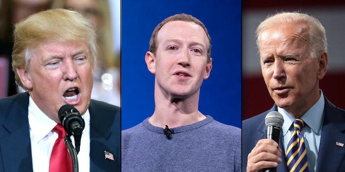 Facebook Political Ads Week Before Election