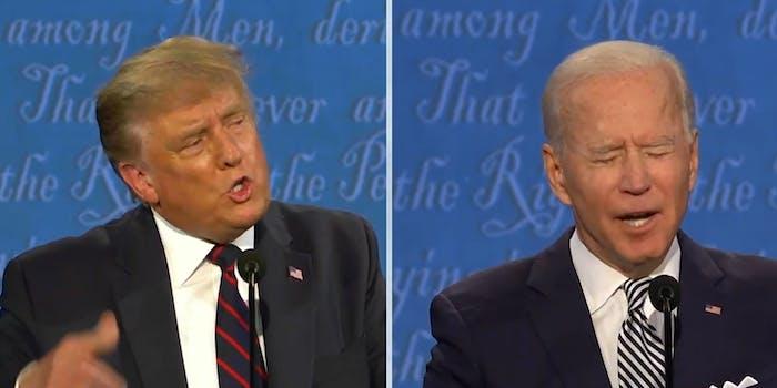 Joe Biden Donald Trump Debate Will You Shut Up Man