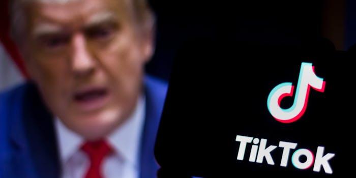 TikTok Trump Ban Injunction