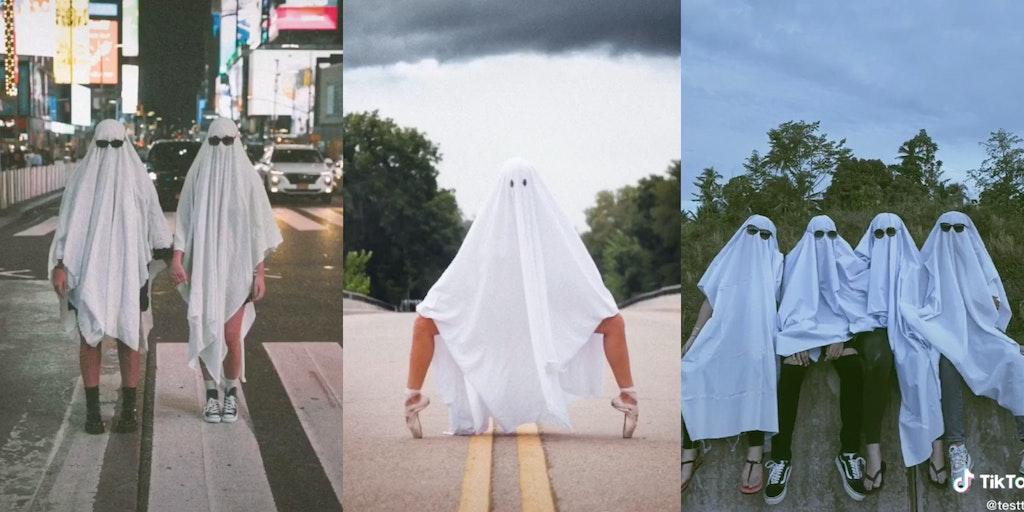 TikTok ghosts