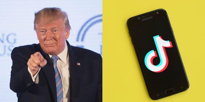 Trump TikTok Ban Deadline Judge