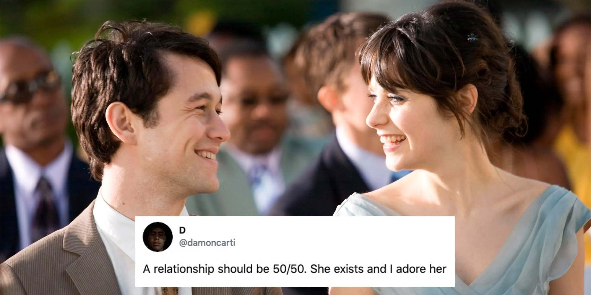 a relationship should be 50/50