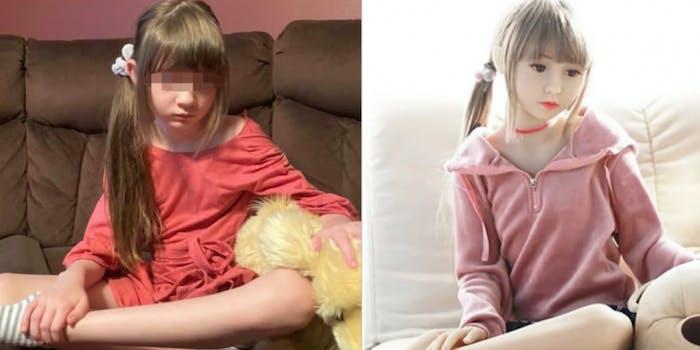 amazon child sex doll