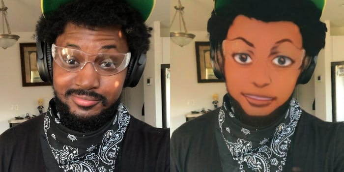 anime face filter
