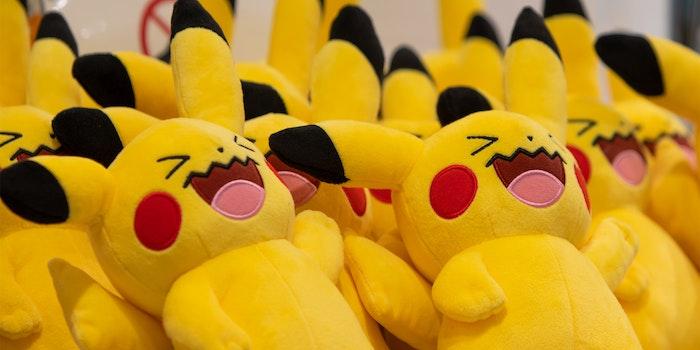laughing pikachu dolls