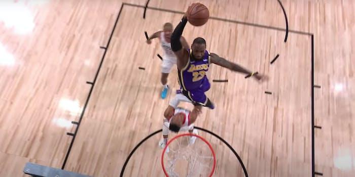 LeBron James dunking stream nba live stream nba playoffs live