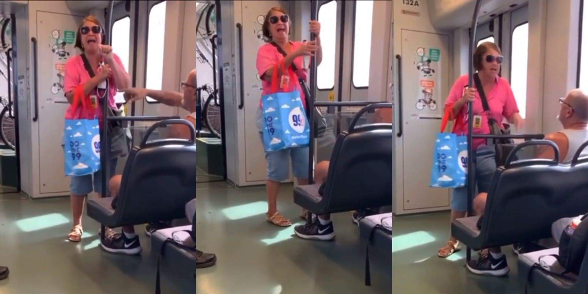 'Light Rail Karen' has a racist episode on an Arizona commuter train