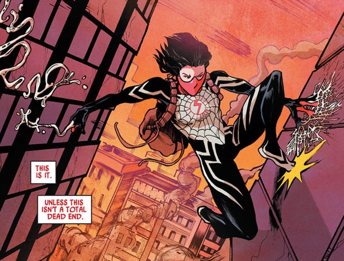 marvel silk powers