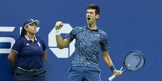 Novak Djokovic stream us open tennis live