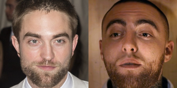 robert pattinson and mac miller