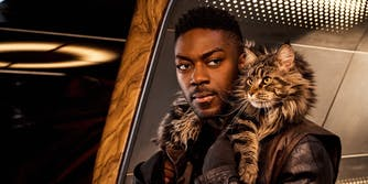 star trek discovery cat