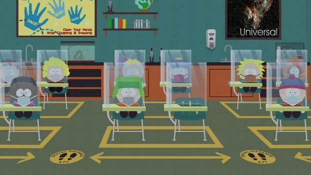 stream South Park pandemic special