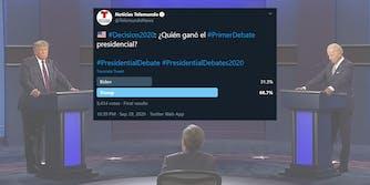 telemundo twitter poll