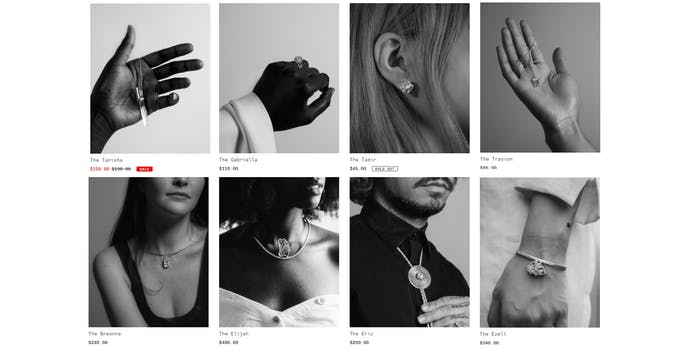 wear their names jewelry of Black people killed by police