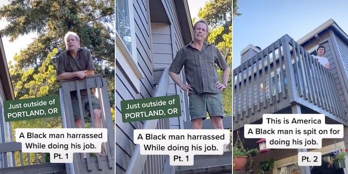 White man spits on Black census worker Antifa