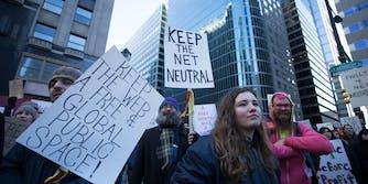 Advocacy groups briefs net neutrality california court