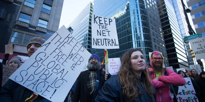 Advocacy groups briefs net neutrality california court