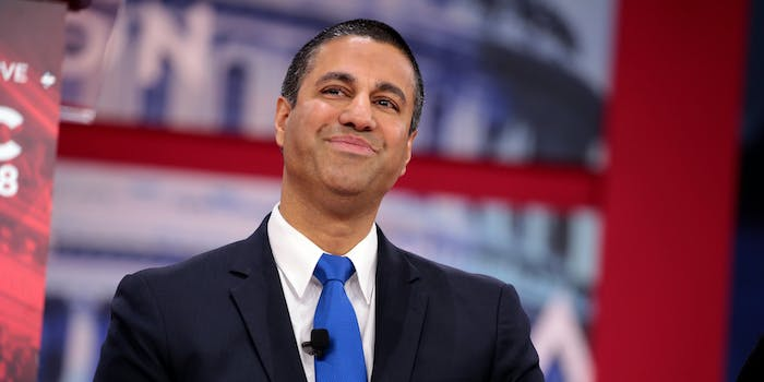 Ajit Pai Defends Net Neutrality Repeal