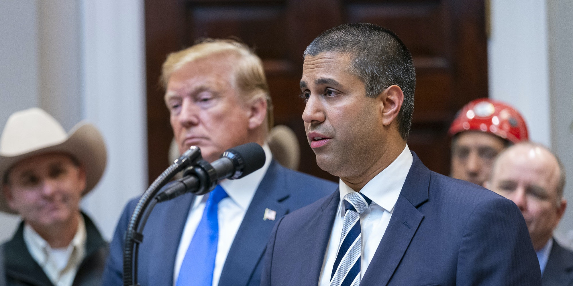 Ajit Pai Donald Trump Executive Order Section 230 FCC