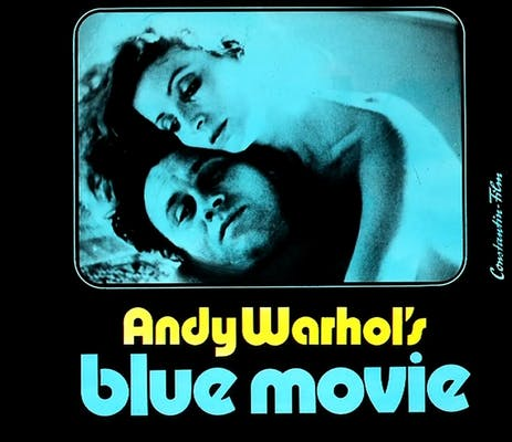 Andy Warhol Blue Movie Cover