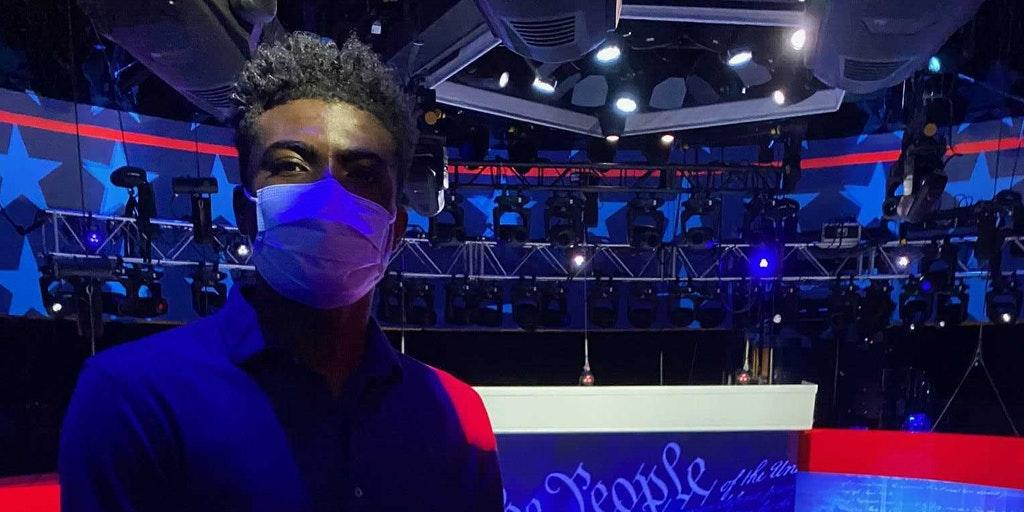 Cedric Humphrey student viral Trump Biden Town Hall Student Call Out Trump Campaign