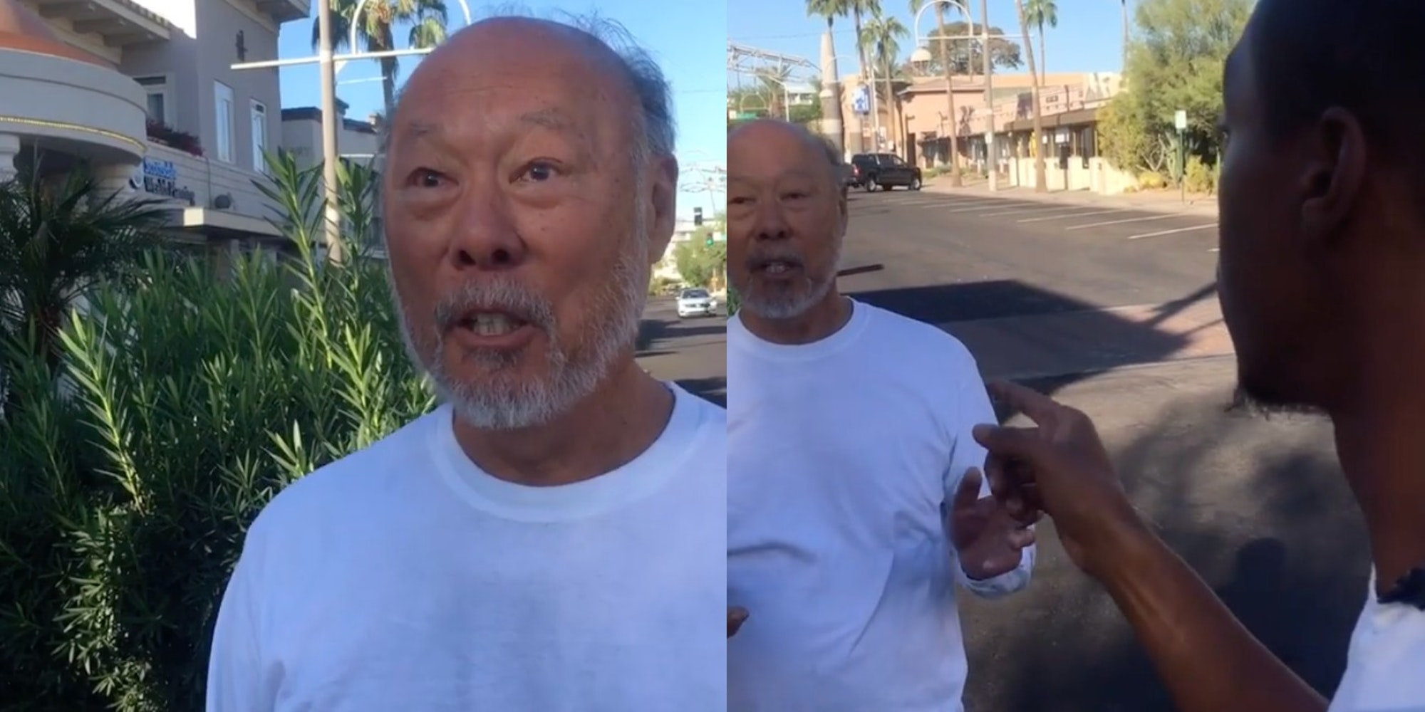 Paul Ng told a Black man that his living location is a no-[N-word] zone