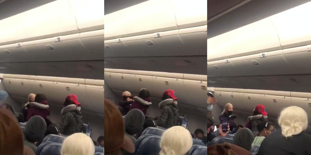 Delta flight attendant - punched