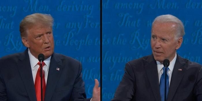 Donald Trump Joe Biden Coronavirus Goggles Memes