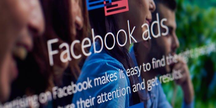 Facebook QAnon Ads